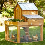 Williams-Sonoma chicken coop by Saltbox Designs