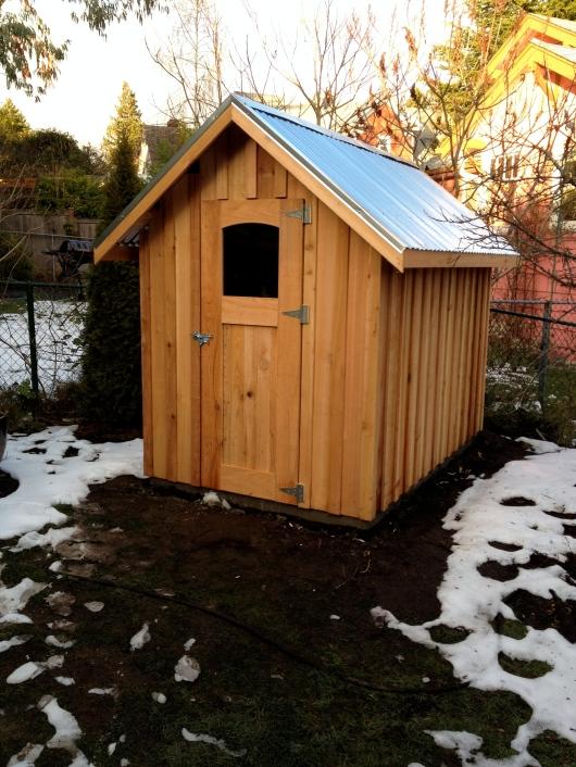 Buy storage shed plans 12 x 24 la sheds build for Shed roof pole barn plans