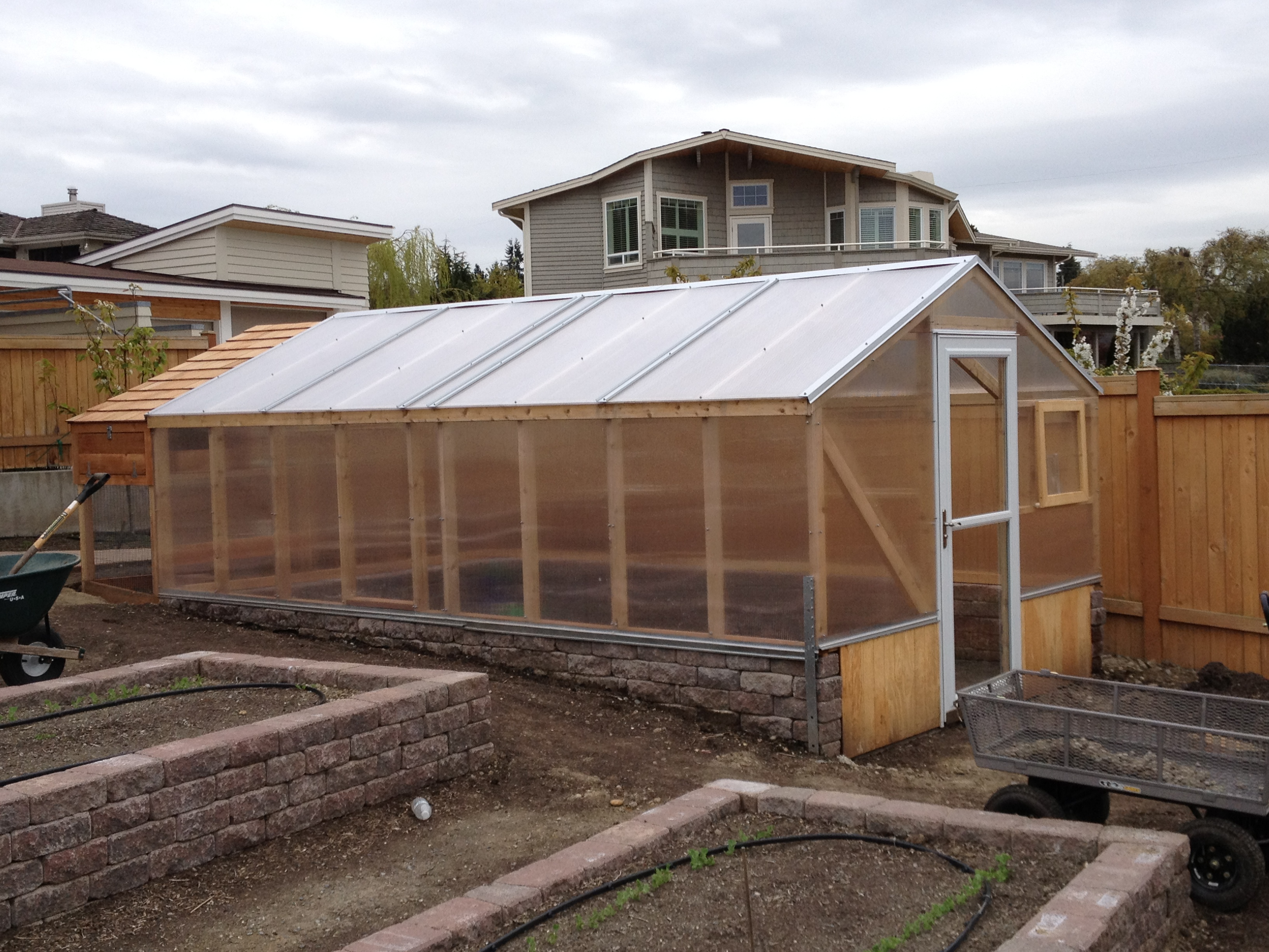 Greenhouses coldframes saltbox designs for Green home designs