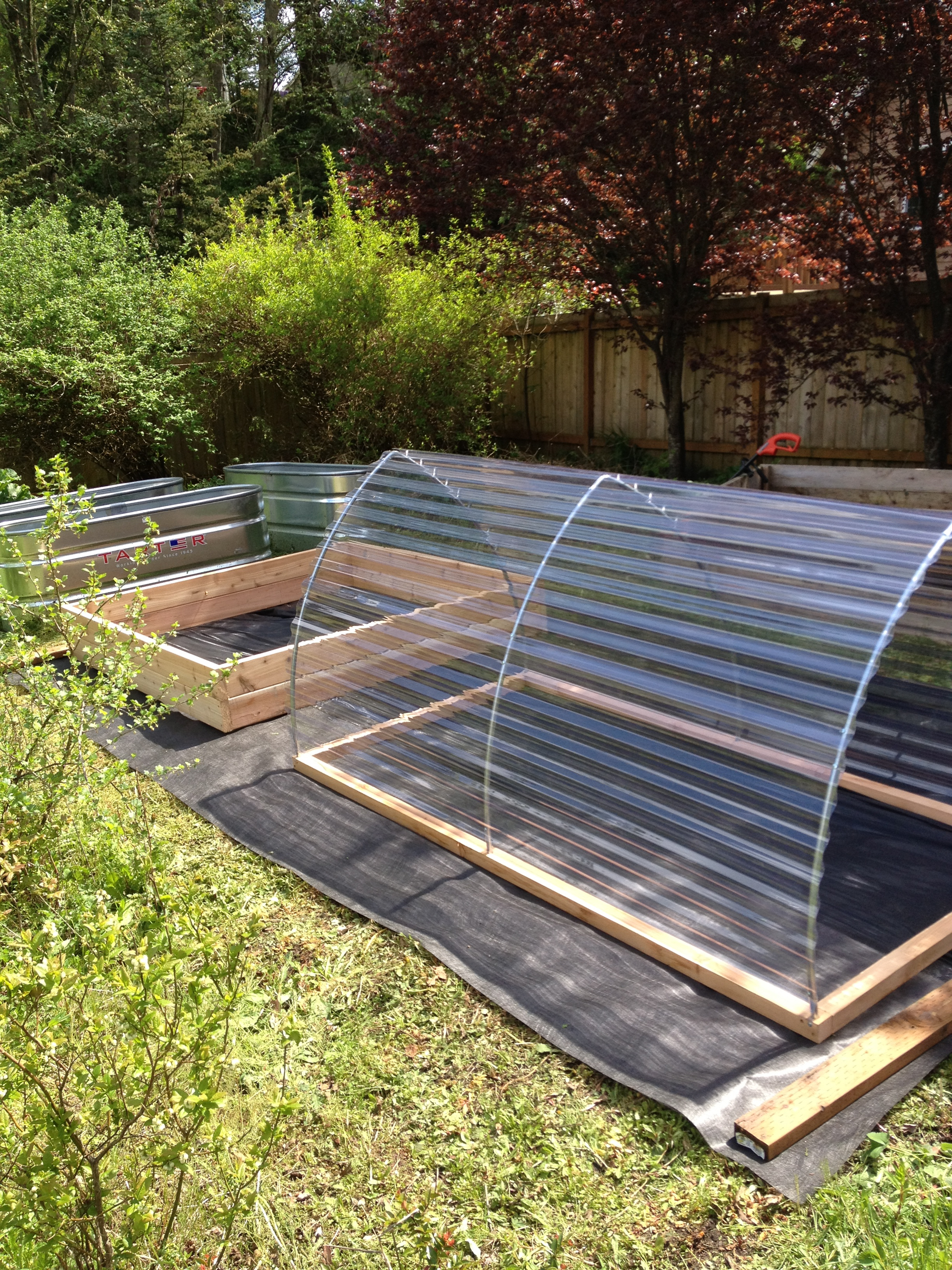 Greenhouses & Coldframes | Saltbox Designs