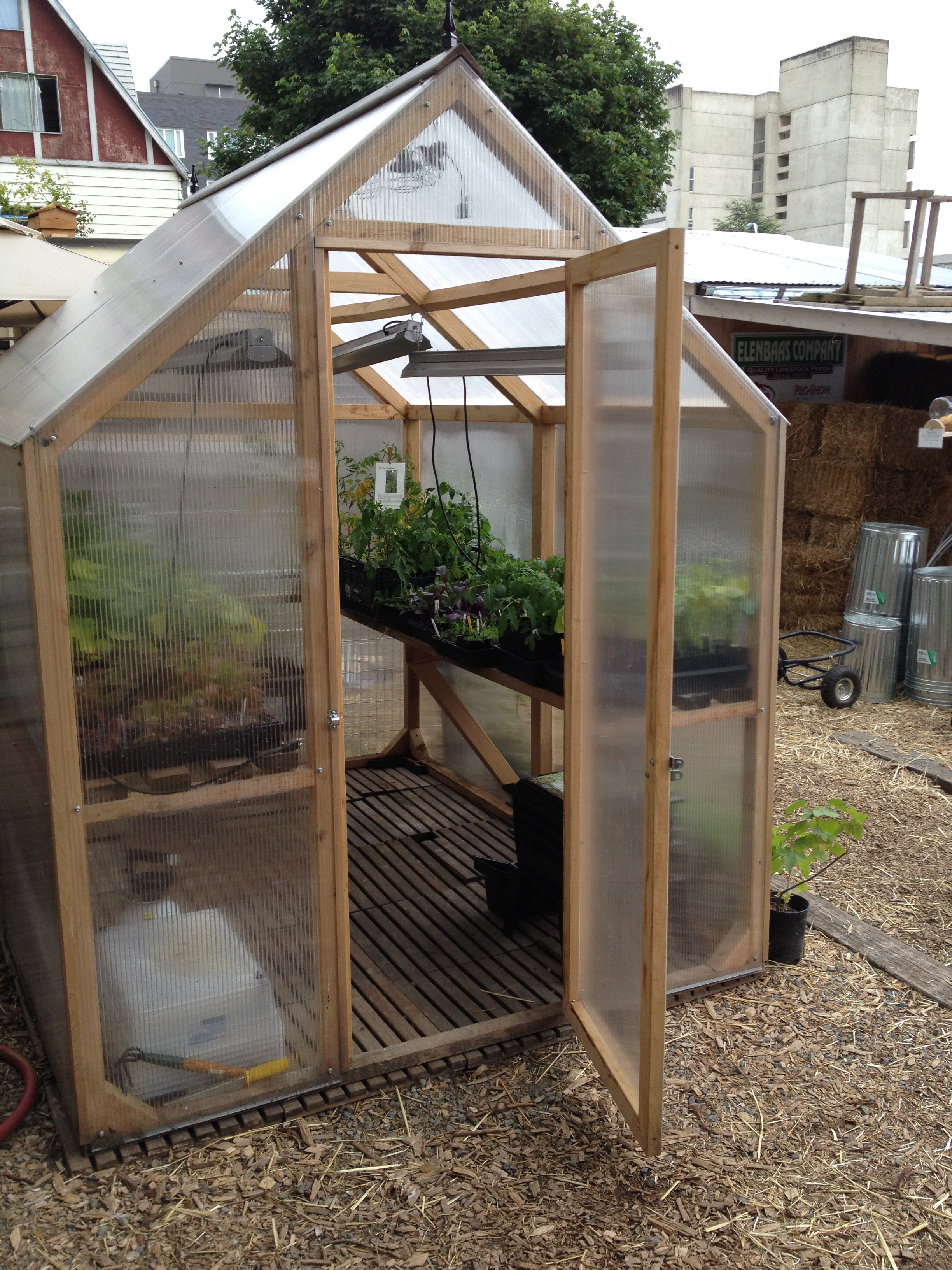 Greenhouses Amp Coldframes Saltbox Designs