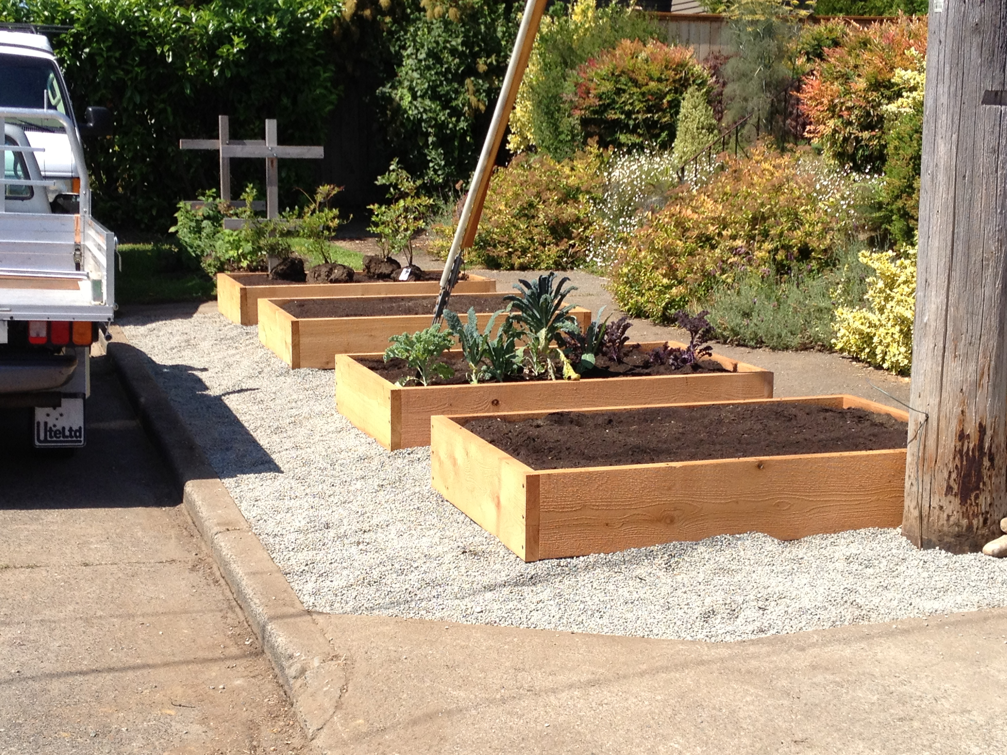 Raised Beds & Planters | Saltbox Designs