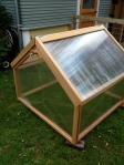 4x4 Gable Cold Frame with Copper Watering System